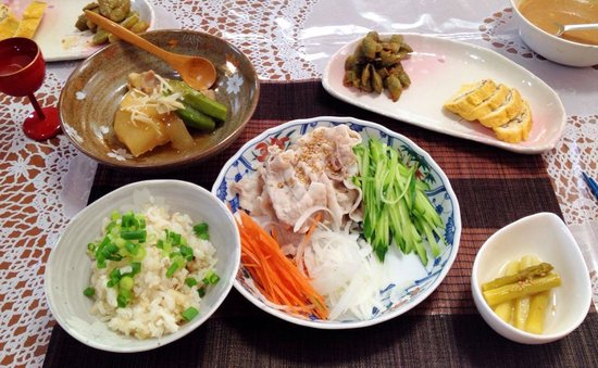 Japanese Cooking Experience with Yoshiko : The meal