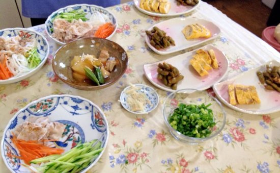 Japanese Cooking Experience with Yoshiko : Plating