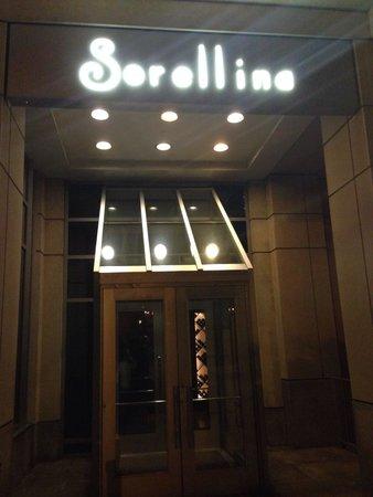 Sorellina: Entrada do Sorelina.
