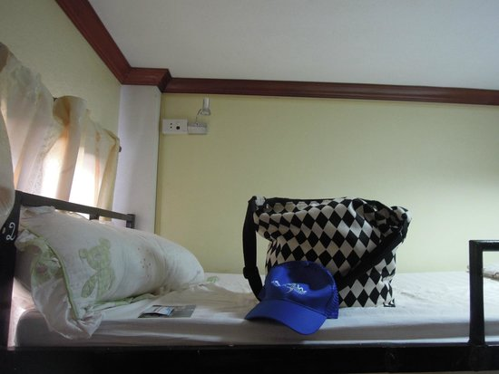 Khammany Inn II Hotel: my bed