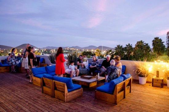 La Santena: Sunset rooftop drinks!! Heaven!