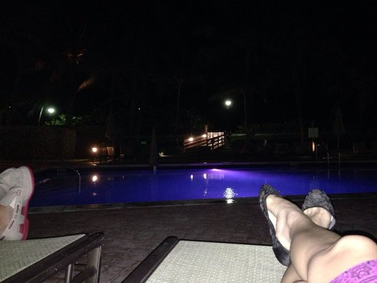 Holiday Inn Miami Beach : Eu e o love, relaxando após o jantar