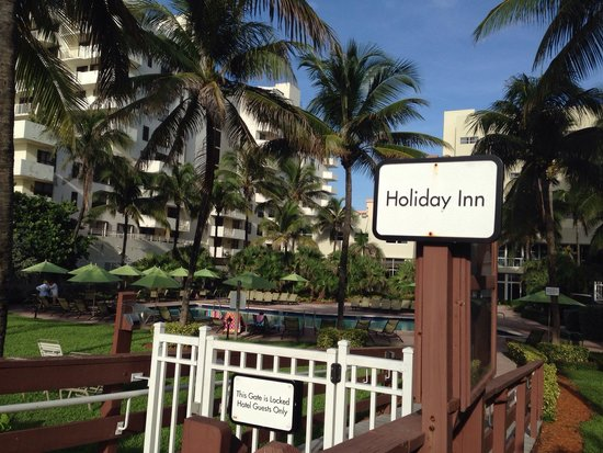 Holiday Inn Miami Beach : Hora da caminhada!🏃🏃#EuEle