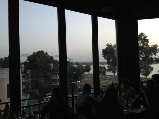 Terrace At The River Inn: View from the restaurant