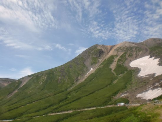 Mt. Norikura : バスからの乗鞍岳