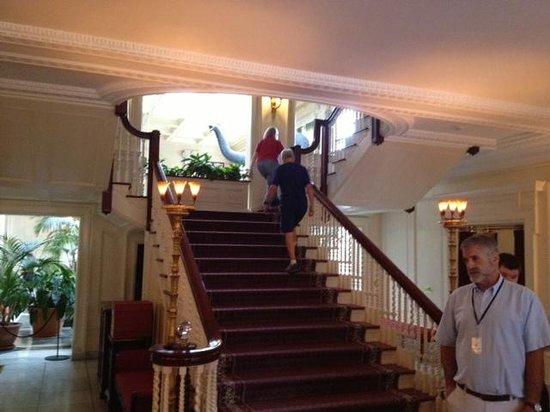 George Eastman Museum : George Eastman House - main staircase