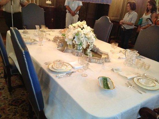 George Eastman Museum : George Eastman House - dining room