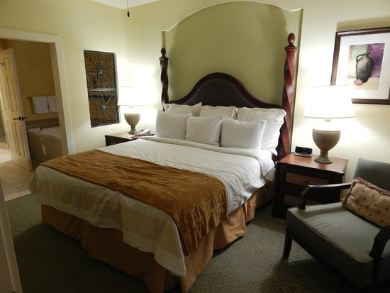 Marriott's Canyon Villas: Master Bedroom