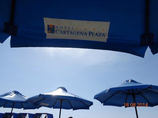 Hotel Cartagena Plaza : playa