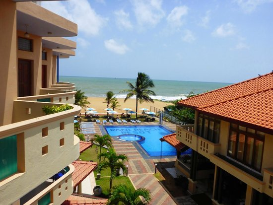 Rani Beach Resort: View from our room
