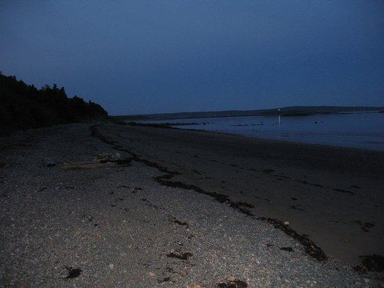 Weir Inn: Low Tide Toward the Lighthouse