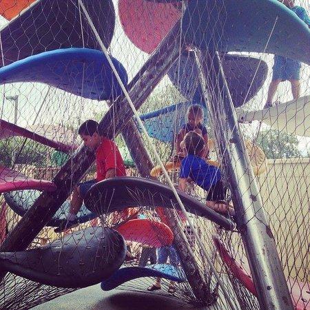 McKenna Children's Museum: Climbing Frame