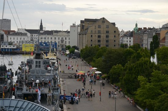 View of The Copenhagen Admiral Hotel