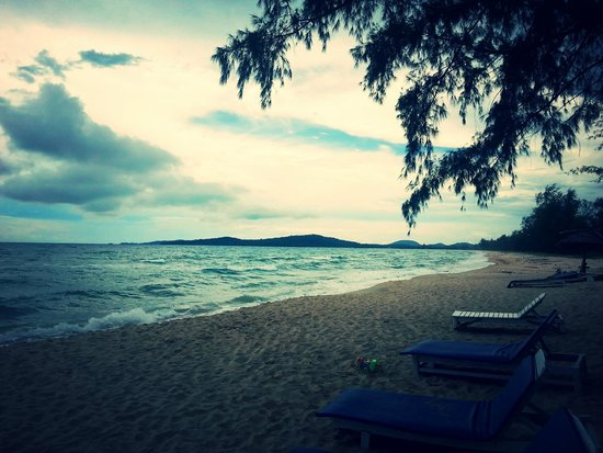 Bo Resort: Plage