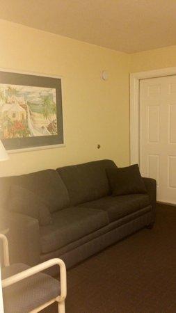 Flamingo Motel : Living area