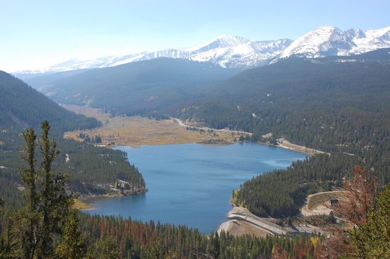 Boreas Pass Road: View from the Boreas Pass