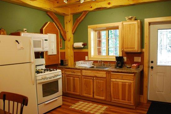 Robert Frost Mountain Cabins: cabin 5