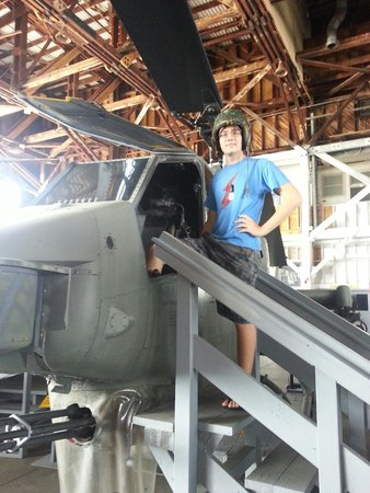 Naval Air Station Wildwood Aviation Museum: Back to the future!