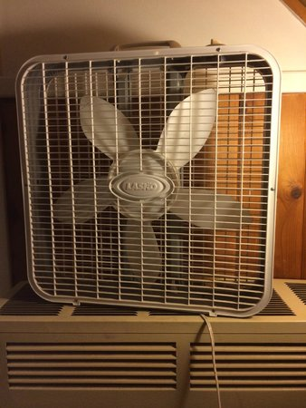 Cinnamon Bear Inn: No AC -- It is just a fan