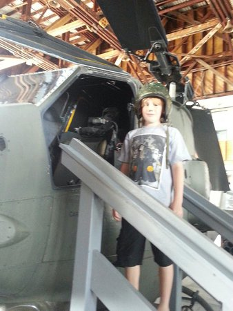 Naval Air Station Wildwood Aviation Museum: Ready captain!