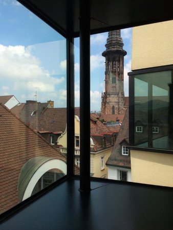 Augustinermuseum: view to the Munster from top floor
