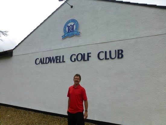 """Uplawmoor, UK : The """"Club"""""""