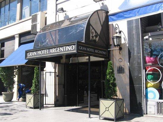Gran Hotel Argentino: Fachada del hotel