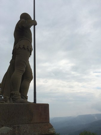 Castle of Hohenzollern: statue