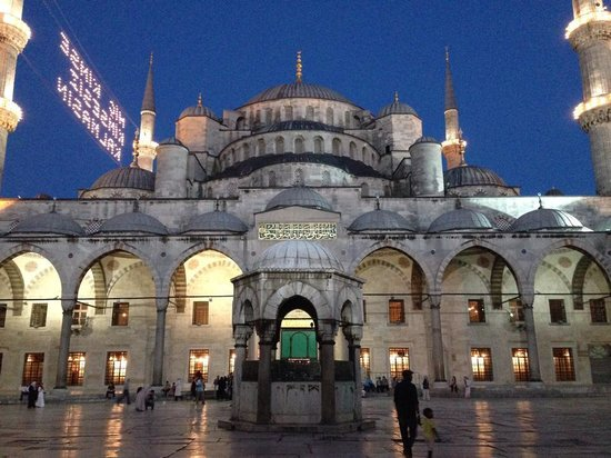 Artefes Hotel Istanbul: A five minute walk from the Blue Mosque.