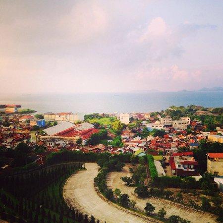 Hotel Novotel Lampung: Pemandangan dari lantai 6