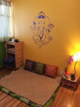 Chillout Flat Bed & Breakfast: meditation spot