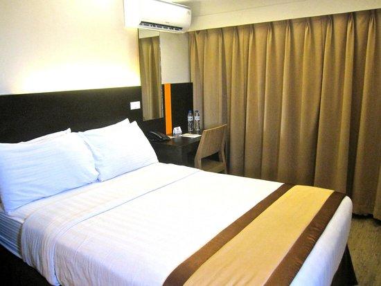 Cuarto Hotel Cebu : comfortable bed