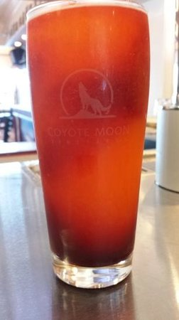 Coyote Moon Vineyards: Psychedelic and delicious wine slushie.