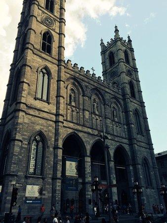 Notre-Dame de Montréal: Notre Dame looks line the original in Paris. This is very beautiful as well.