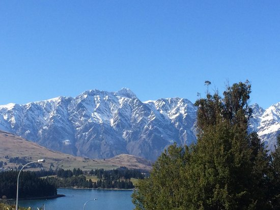 Heritage Queenstown: View from Hotel room