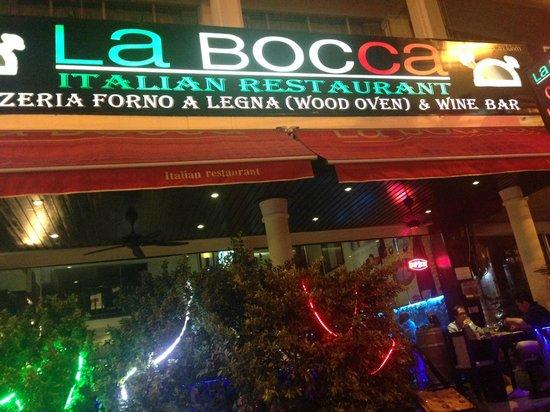 La Bocca Italian Restaurant and Pizzeria: LaBocca Pattaya