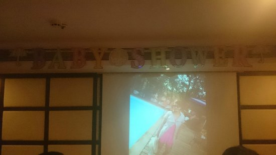 Royal Orchid Central Grazia, Vashi : Baby Shower theme given during the function