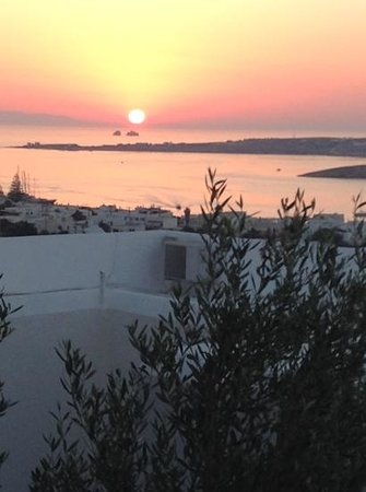 Paros Palace : vista dalla camera