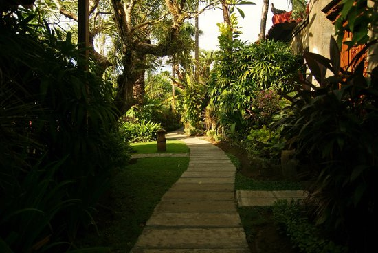Parigata Villas Resort: Внутренняя территория отеля