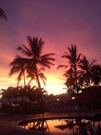 Royal Decameron Complex: A Magical Sunset..