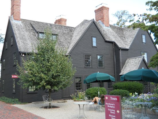 The House of the Seven Gables : Exterior of the house