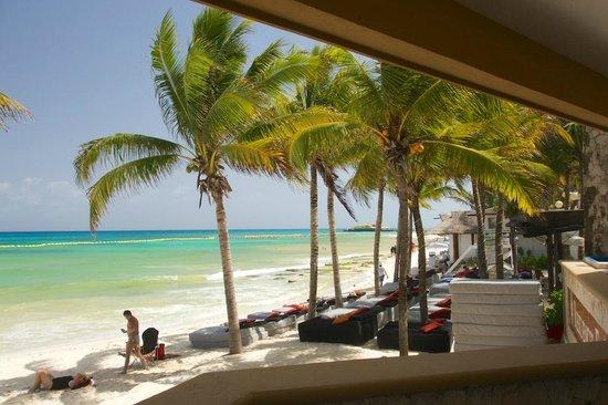 Residences El Faro Beach Bar Next Door