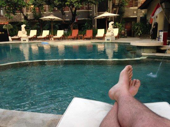 Adhi Jaya Hotel : Pool.