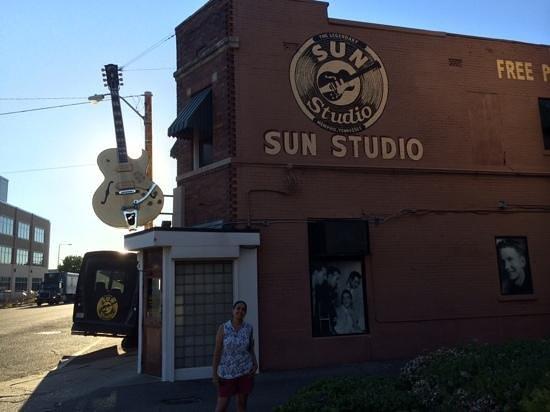 Sun Studio : exterior