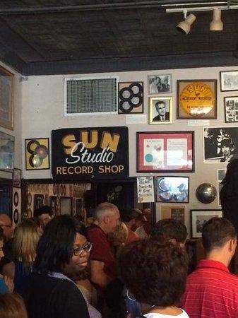 Sun Studio : fans!