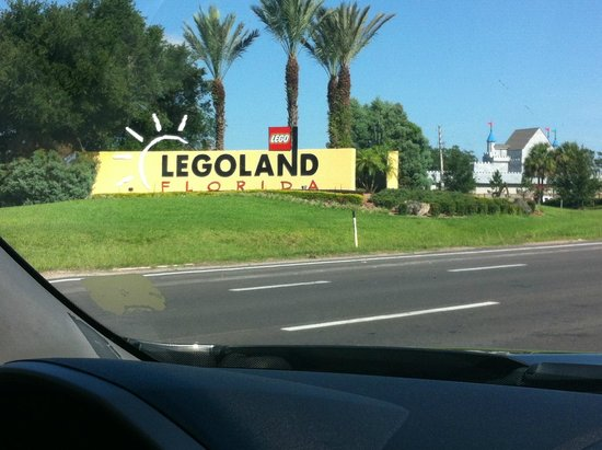 LEGOLAND Florida Resort: LEgo Land Entrance