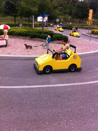 LEGOLAND Florida Resort: How to get the Driver License 5+ years