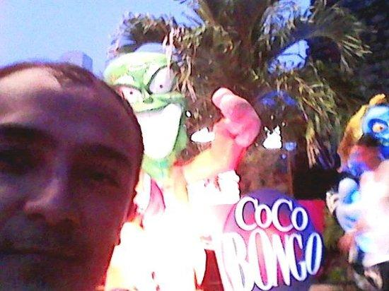 Coco Bongo Cancún: Levi Freire Jr no Coco Bongo cancun