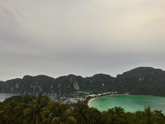Phi Phi Islands: pemandangan dari puncak bukit