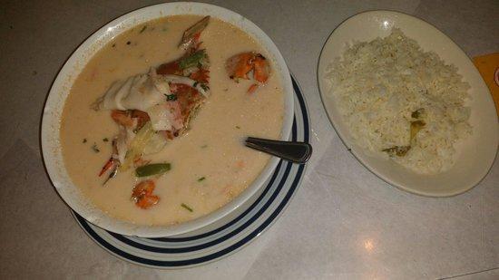 Country Flame: Seafood soup (sopa de marisco)